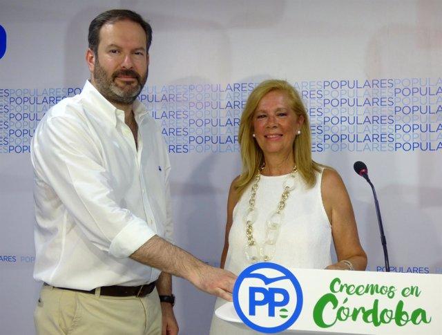 Adolfo Molina y Luisa María Arcas