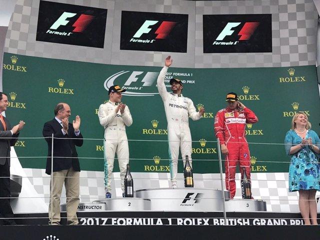 Lewis Hamilton Silverstone Gran Premio Gran Bretaña