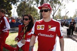 """Raikkonen: """"Hemos tenido suerte de recuperarnos y haber terminado en el podio"""""""