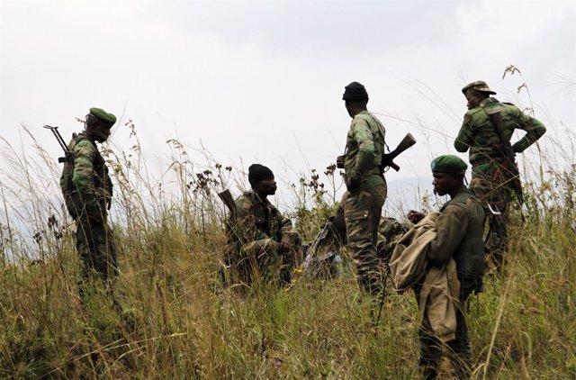 Soldados de RDC