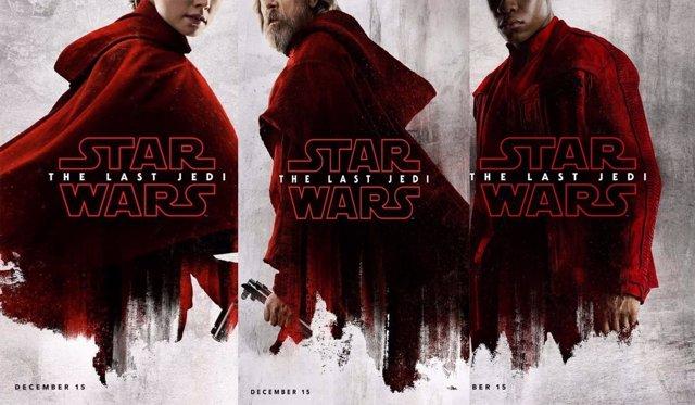 Rey, Luke y Finn