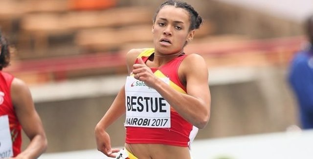 Jäel Bestué, subcampeona mundial juvenil en 200 metros