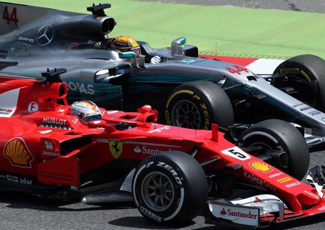 La FIA abre una investigación por el incidente entre Vettel y Hamilton en Bakú