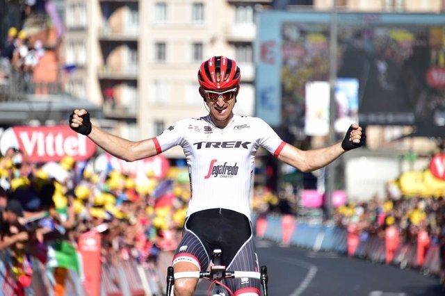 El ciclista holandés Bauke Mollema (Trek)
