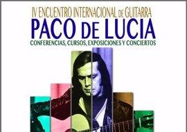 Algeciras abre este lunes el IV Encuentro Internacional de Guitarra 'Paco de Lucía'