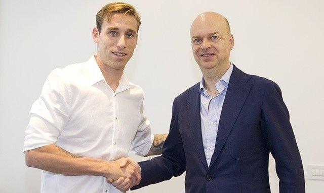 El Milan hace oficial el fichaje de Lucas Biglia