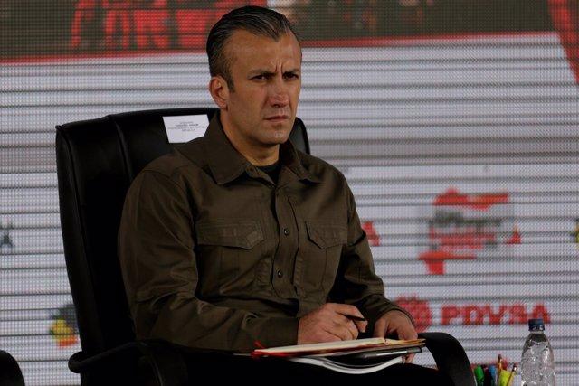 Tareck El Aissami, vicepresidente de Venezuela