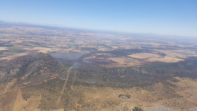 Incendio Arroyo de San Serván