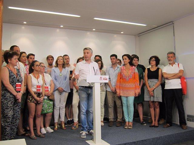 Francisco Ocón, nuevo secretario general del PSOE  de La Rioja