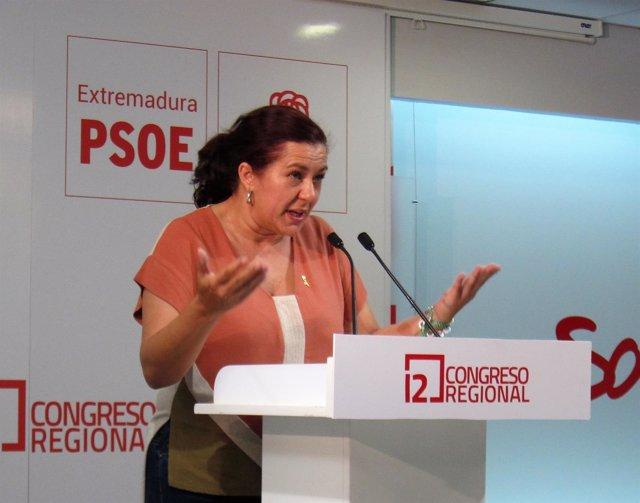 Eva Pérez, tras conocerse los resultados de las primarias