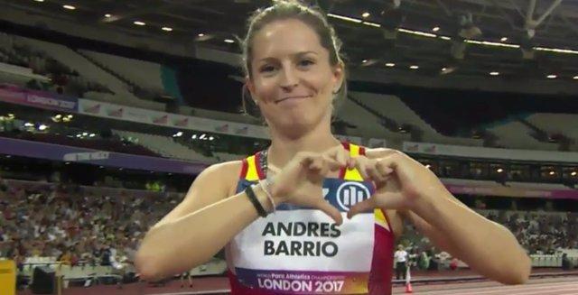 Atletismo.- Sara Andrés logra el segundo bronce
