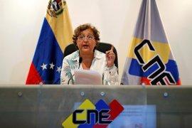 """El CNE, """"satisfecho"""" por el funcionamiento del sistema electoral durante el ensayo a la Constituyente en Venezuela"""