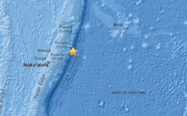 Registrado un terremoto de magnitud 5,6 frente a las costas de Tonga