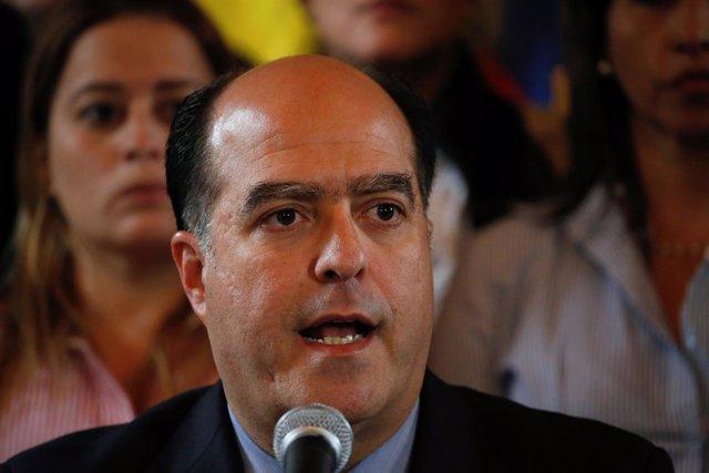 El presidente de la Asamblea Nacional venezolana, Julio Borges