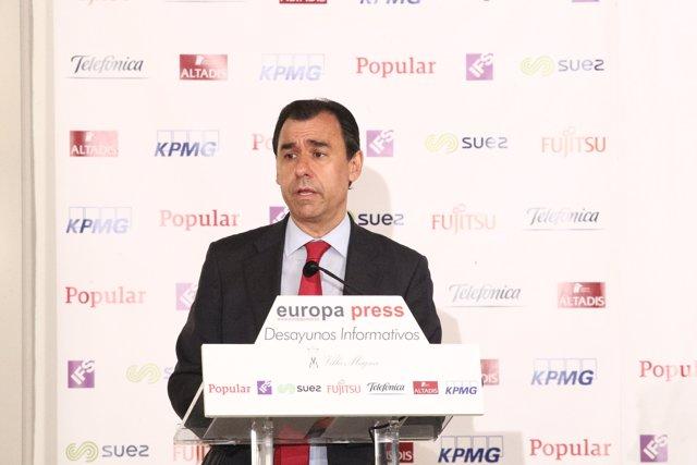 Esmorzar Informatiu amb Fernando Martínez Maillo, coordinador general del PP