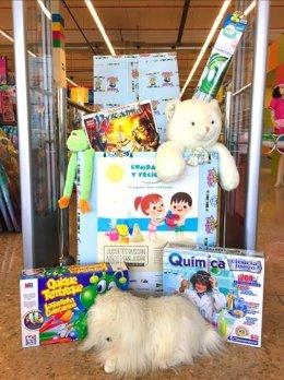 Campaña solidaria de juguetes Comparte y Recicla