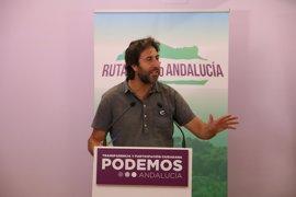 """Podemos Andalucía ve un """"error estar pendiente de si se gobierna"""" con el PSOE y propone ser alternativa"""