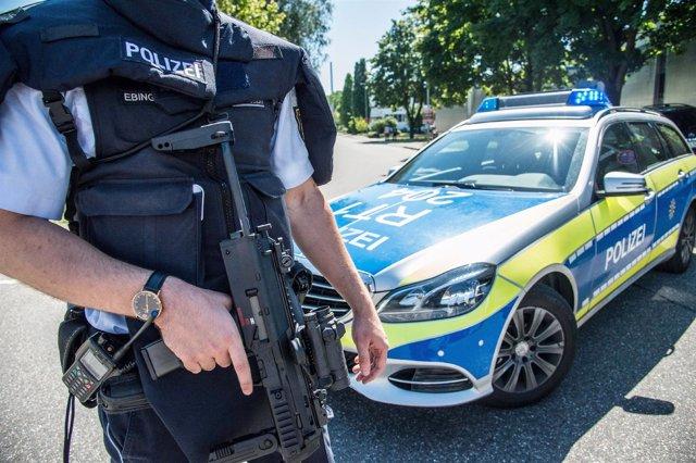 Policías en Esslingen