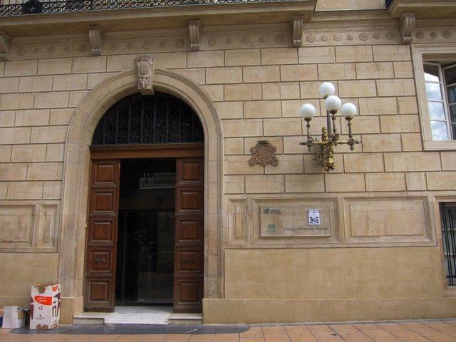 Sede del IER (Instituto de Estudios Riojanos) en Portales