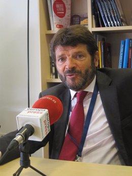 El director general de los Mossos Albert Batlle