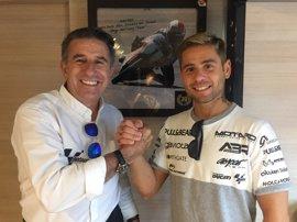 Bautista firma su renovación para 2018 con el Aspar Team