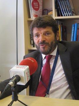 El director general dels Mossos Albert Batlle
