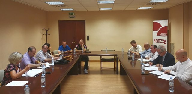 Firma del texto definitivo del convenio del metal de Zaragoza