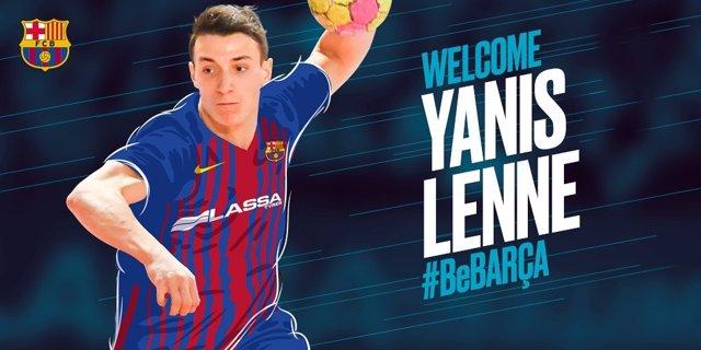 Yanis Lenne fitxa pel Barcelona