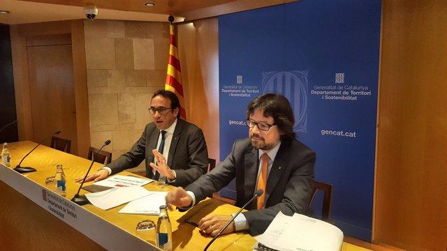 Josep Rull y Ricard Font