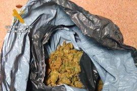 Detenidos dos jóvenes de Cadrete (Zaragoza) por tráfico de drogas