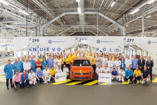 Nuevo Volkswagen Polo fabricado en Navarra.