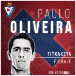 Paulo Oliveira ficha por el Eibar
