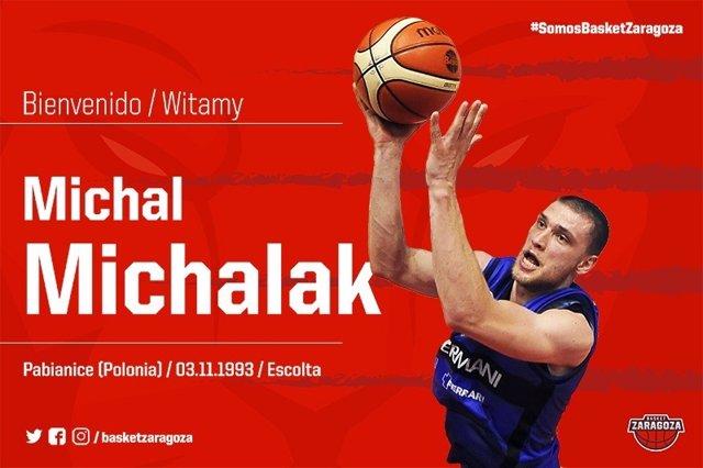 Michal Michalak llega al Tecnyconta Zaragoza