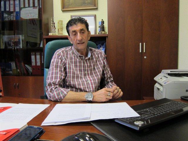 El secretario general de UGT en Huelva, Sebastián Donaire.