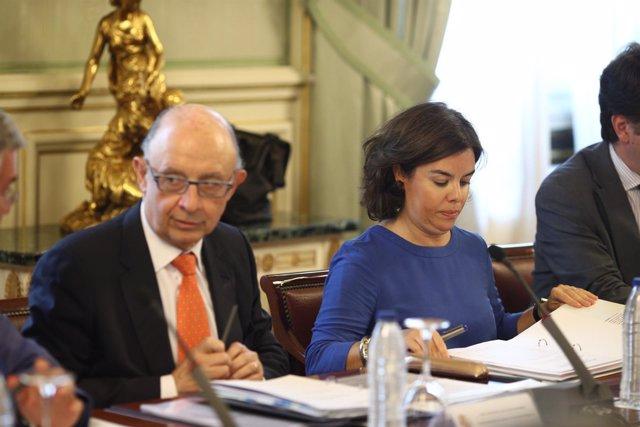 Santamaría y Montoro en el Comité Preparatorio de Conferencia de Presidentes