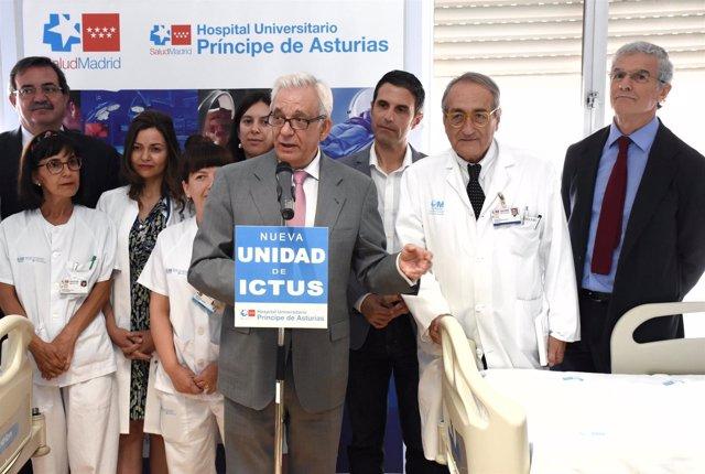 Alcalá De Henares: Inaugurada La Nueva Unidad De Ictus Del Hospital Universitari