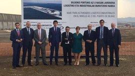 La planta de fabricación de torres eólicas del Puerto de Bilbao creará 300 nuevos empleos e invertirá 55 millones