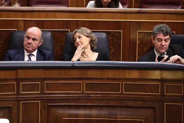 Isabel García Tejerina en el debate de la moción de censura