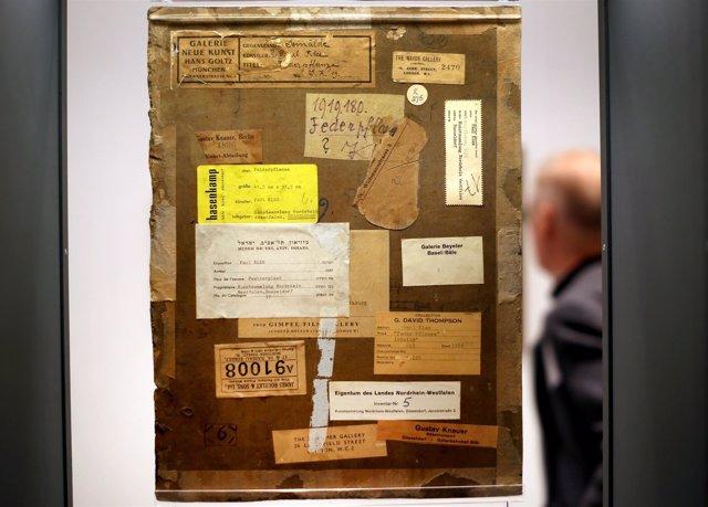 Cuadro de Paul Klee posiblemente robado por los nazis