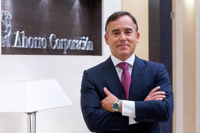 El consejero delegado de Ahorro Corporación, Gonzalo Chocano