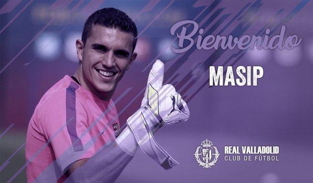 Jordi Masip ficha por el Valladolid