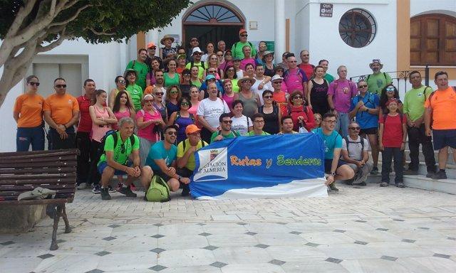 La primera ruta ha recorrido el 'Sendero del Collado' en el municipio de Líjar.