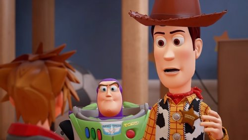 Kingdom Hearts III y Toy Story