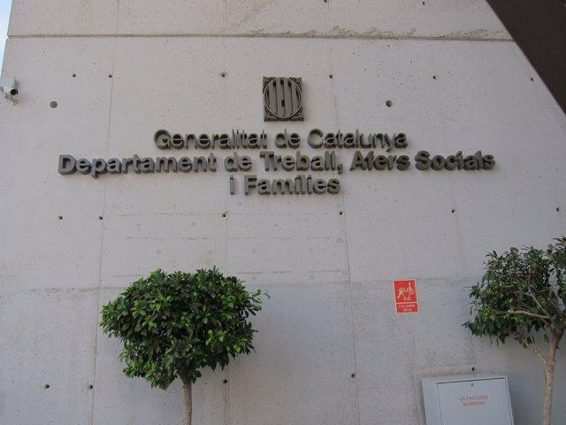 Seu de l'Conselleria de Treball, Assumptes Socials i Famílies de la Generalitat