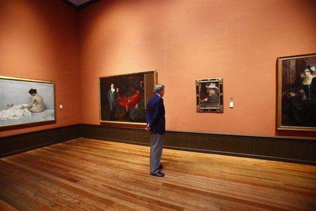 Íñigo Méndez de Vigo, visita el Museo Sorolla en Madrid