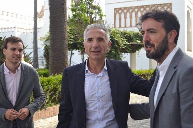 Visita Del Consejero De Cultura De La Junta A Tarifa