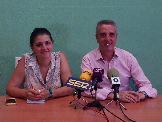 Carmen Beato y Juan Pérez