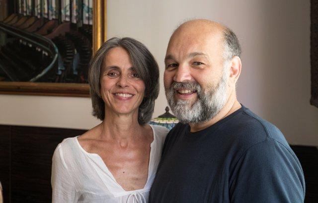 Alberto García-Demestres i Cristina Pavarotti