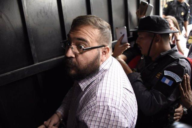 Javier Duarte extraditado en México