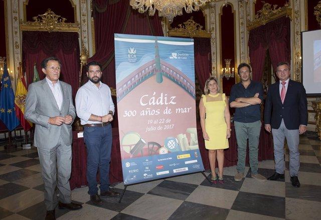 Presentación de 'Cádiz, 300 años de mar'